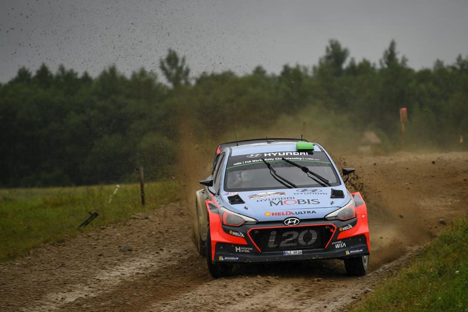 HYUNDAI MOTORSPORT CLAIMS FIFTH PODIUM OF 2016 WITH HARD-FOUGHT THIRD IN POLAND