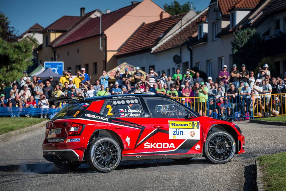 ŠKODA VICTORY AT THE BARUM RALLY: KOPECKÝ DEFENDS TITLE IN THE CZECH RALLY CHAMPIONSHIP