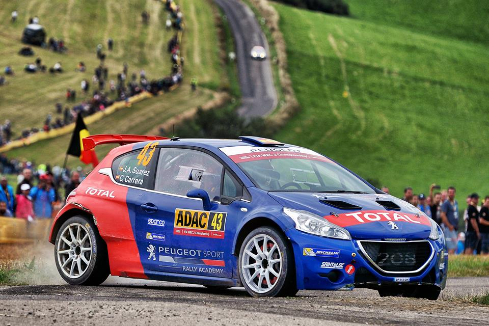 THE PEUGEOT RALLY ACADEMY ON HOME SOIL!