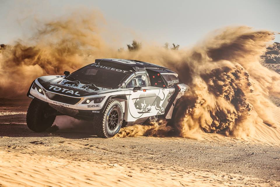 ALL-NEW PEUGEOT 3008 DKR READY FOR ACTION