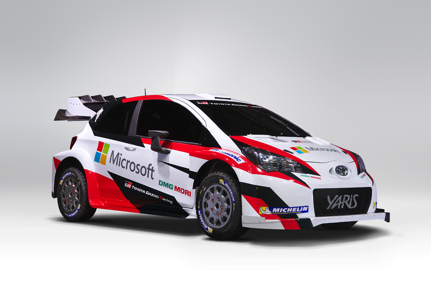 "MICROSOFT AND TOYOTA JOIN FORCES IN FIA WORLD RALLY CHAMPIONSHIP – EXPANDING PARTNERSHIP IN ""EVER-BETTER CARS"""