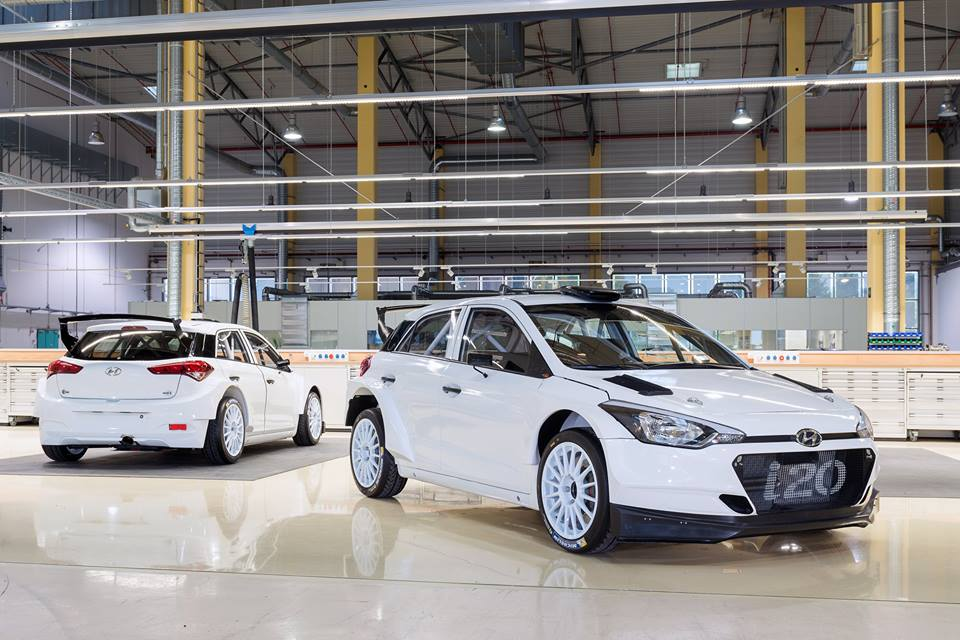 HYUNDAI MOTORSPORT DELIVERS THE FIRST NEW GENERATION i20 R5 TO A CUSTOMER TEAM