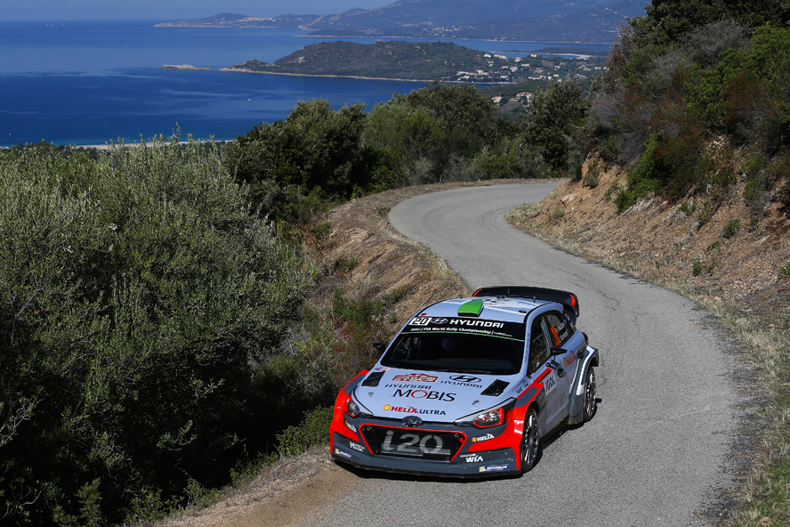 PODIUM PUSH FOR HYUNDAI MOTORSPORT AFTER MIXED OPENING DAY IN CORSICA