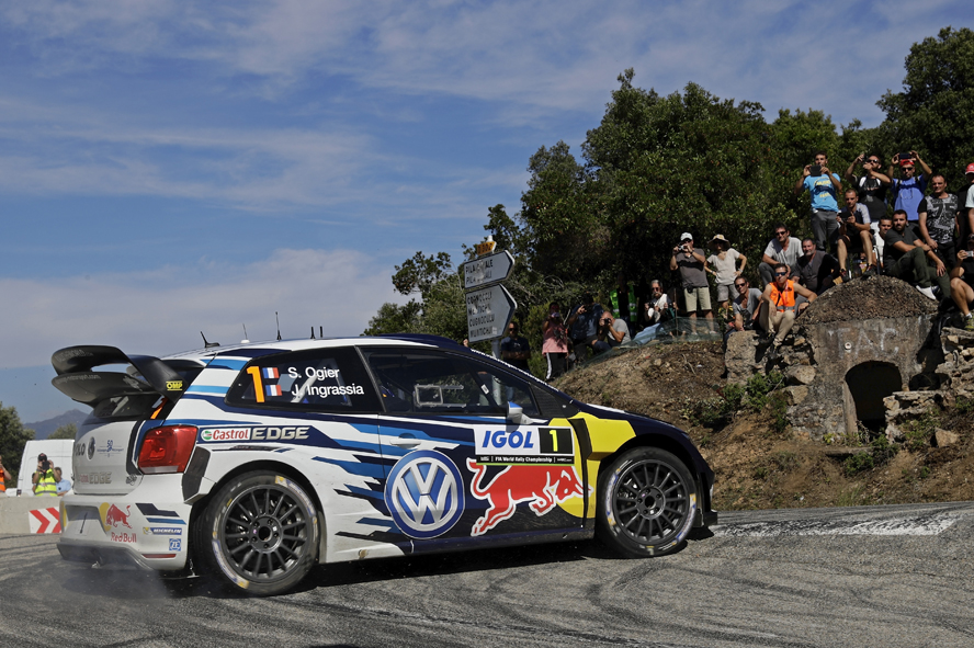 HOME, SPEED HOME – OGIER IN A LEAGUE OF HIS OWN ON DAY OF THE RALLY FRANCE