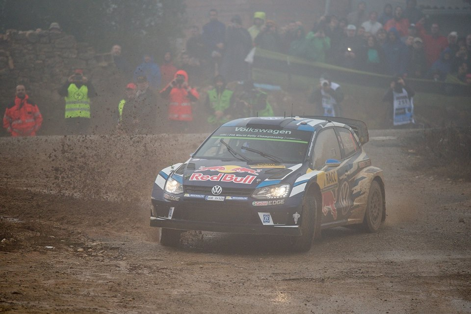 OGIER AND MIKKELSEN ON COURSE FOR THE PODIUM IN THE SPANISH RAIN