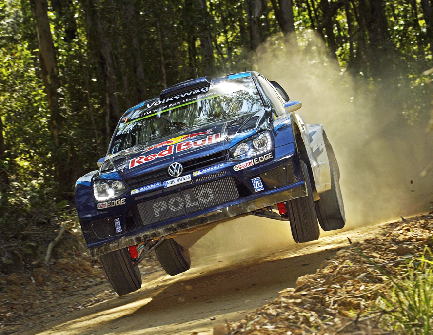VOLKSWAGEN GOING ALL OUR FOR VICTORY AT THE POLO R WRC'S LAST HURRAH