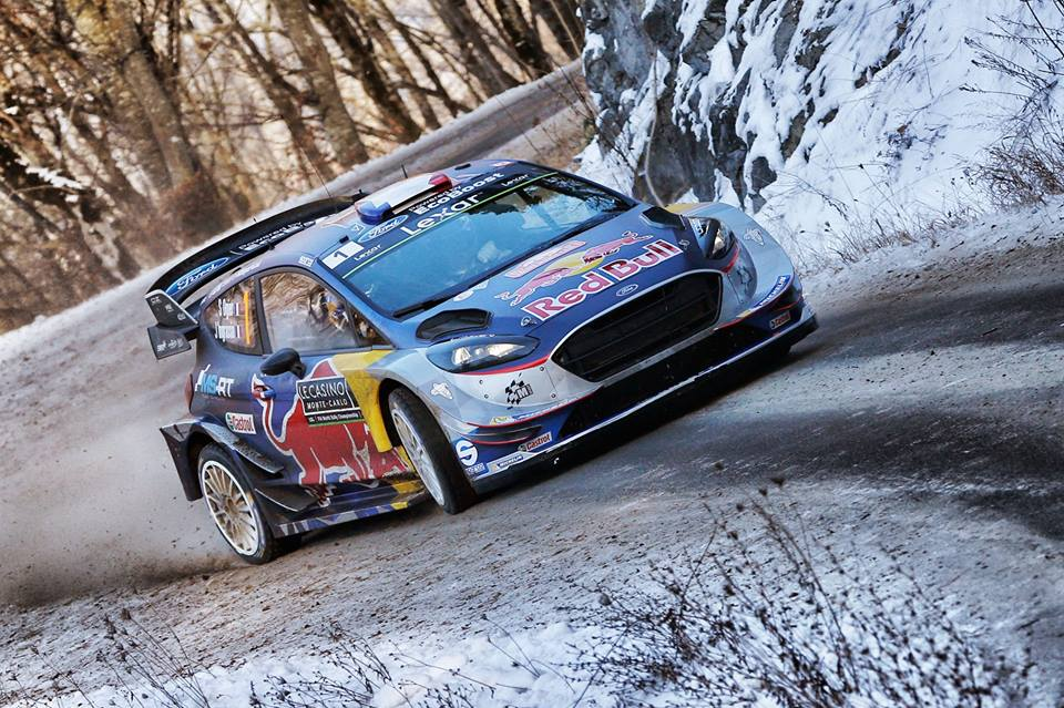 STRONG START FOR M-SPORT WITH OGIER AND TÄNAK IN PODIUM POSITION