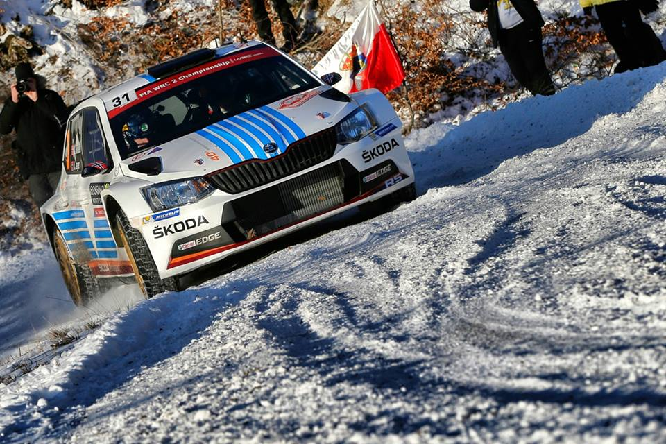 MIKKELSEN AHEAD OF KOPECKÝ: ONE-TWO LEAD FOR ŠKODA AHEAD OF THE RALLY MONTECARLO FINALE