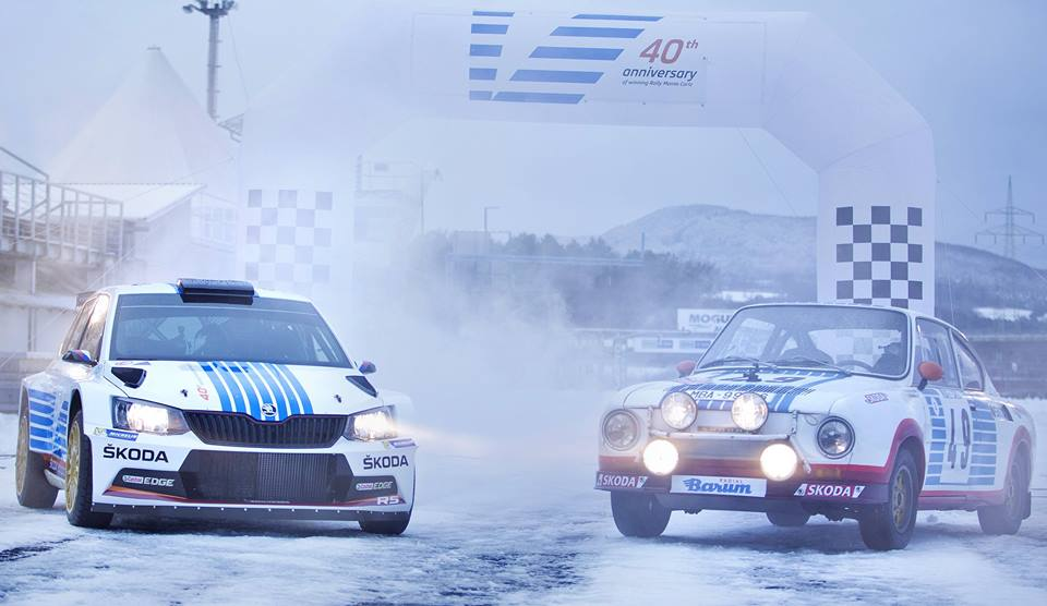 ŠKODA MARKS 40TH ANNIVERSARY OF LEGENDARY WIN AT THE RALLY MONTECARLO