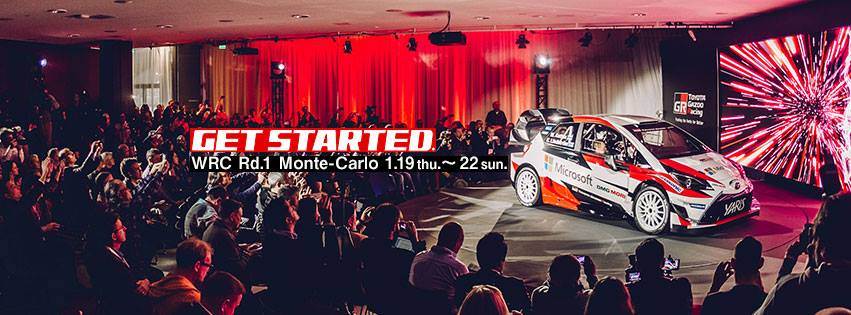 WE HAVE LIFT.OFF!  TOYOTA GAZOO RACING SET FOR MONTE MAGIC