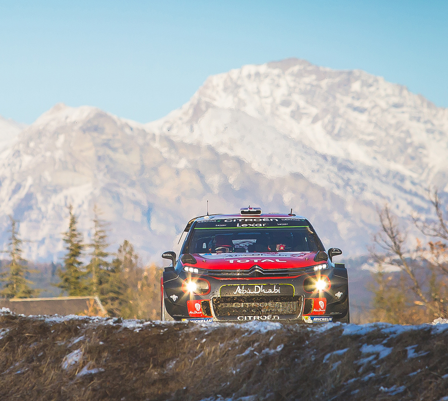 AN UNBELIEVABLE RALLYE MONTE-CARLO!