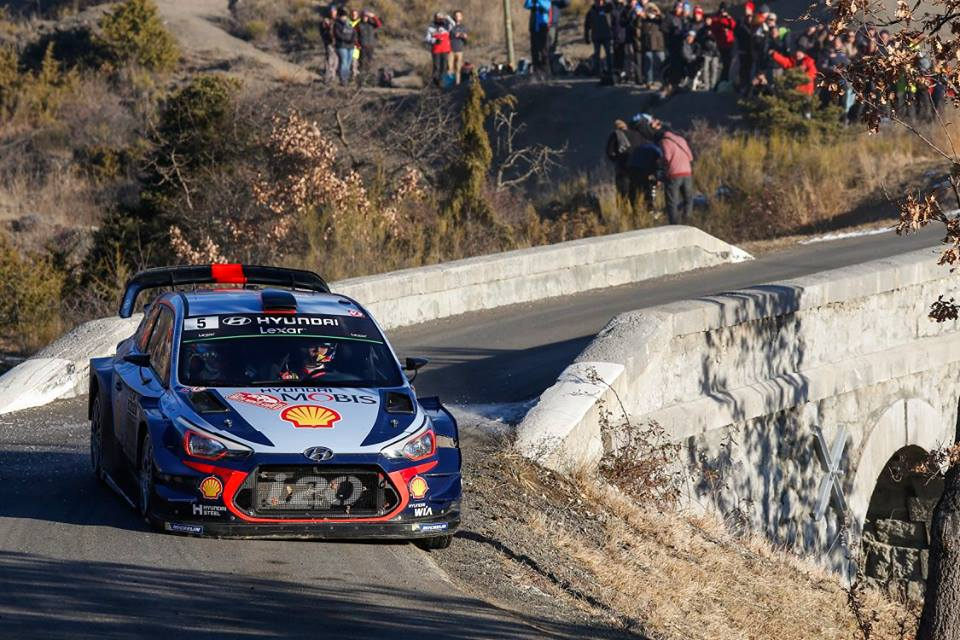 POWER STAGE SUCCESS OFFERS CONSOLATION FOR HYUNDAI MOTORSPORT IN MONTE-CARLO