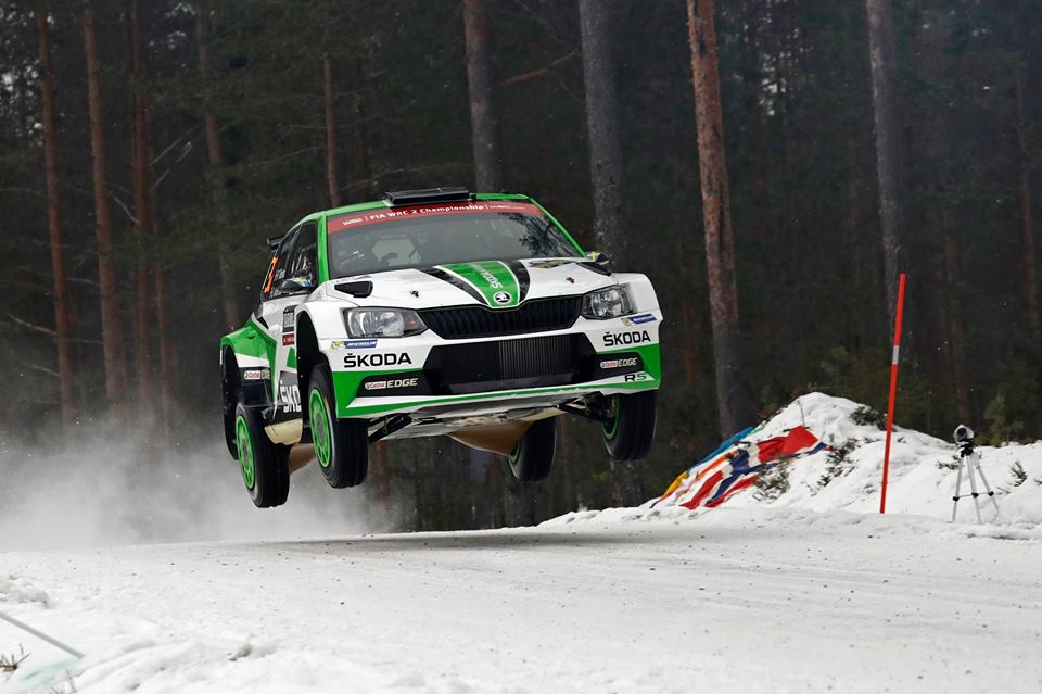 TIDEMAND LEADS THE WAY AT HIS ICY HOME WORLD CHAMPIONSHIP RALLY IN SWEDEN