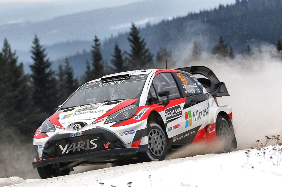 LATVALA RUNNER-UP AFTER LONGEST DAY OF RALLY SWEDEN