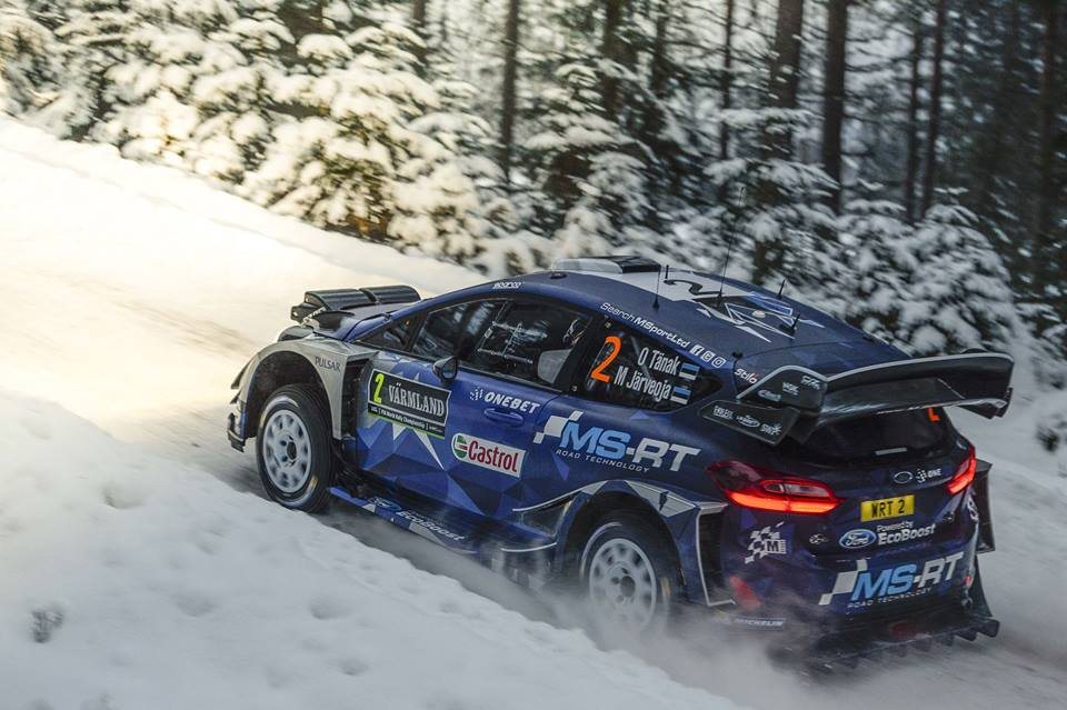 TÄNAK ON A MISSION: FIGHTING FOR RALLY SWEDEN VICTORY