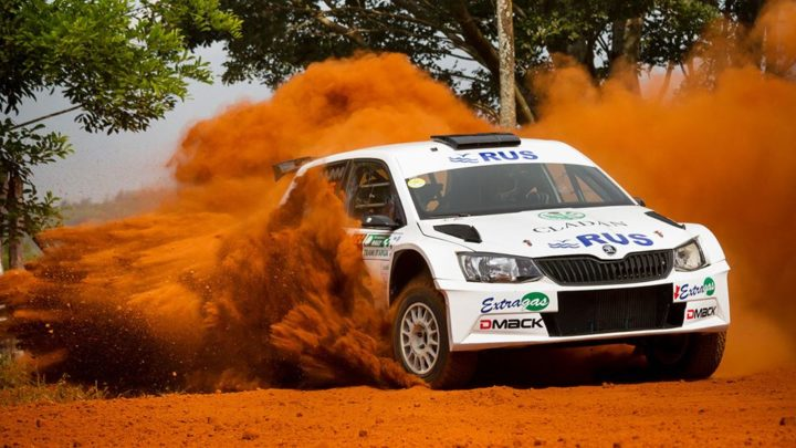 MARCOS LIGATO HEADS HOME ŠKODA '1-2-3-4' AT THE RALLY TRANS ITAPÚA