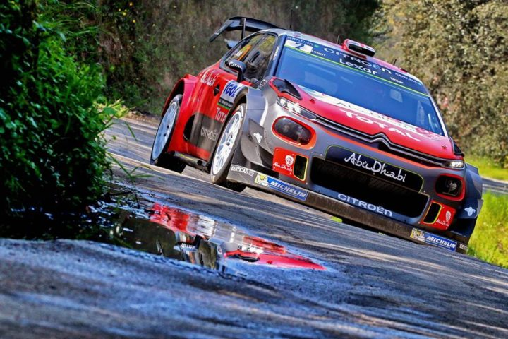 KRIS MEEKE IN IMPERIOUS FORM AROUND AJACCIO