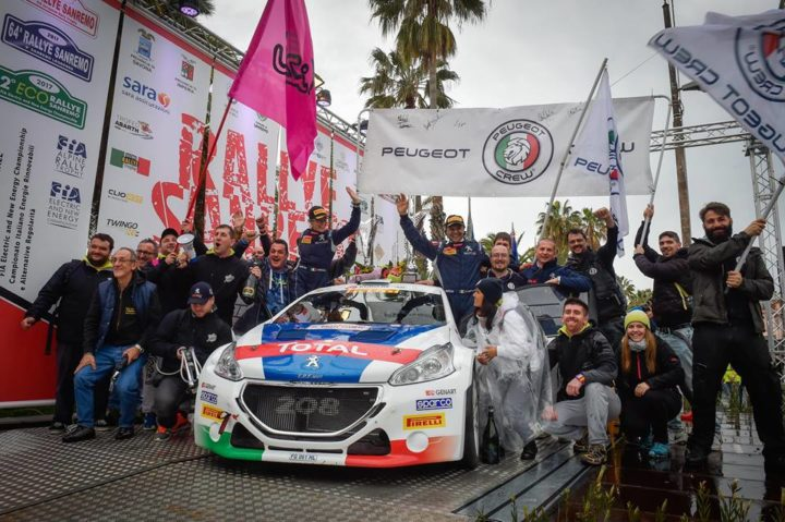 PAOLO ANDREUCCI AND ANNA ANDREUSSI WIN THE 64TH RALLYE SAN REMO