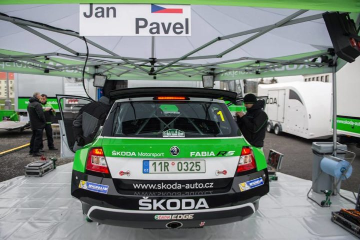 ŠKODA AIMS TO CONTINUE WINNING STREAK: RALLY ŠUMAVA KLATOVY
