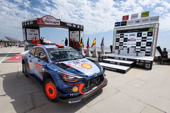 HYUNDAI MOTORSPORT CELEBRATES DOUBLE PODIUM IN RALLY DE PORTUGAL