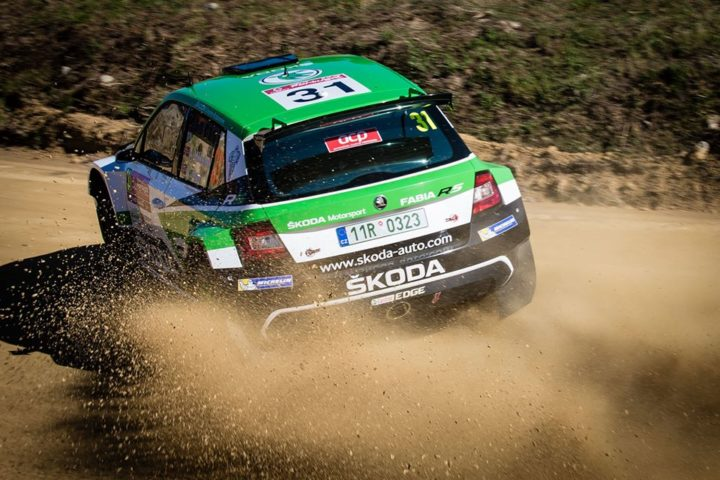 DOUBLE LEAD FOR ŠKODA FABIA R5 WITH ANDREAS MIKKELSEN AND PONTUS TIDEMAND