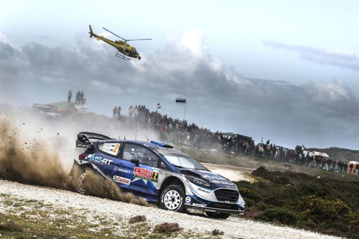 TÄNAK LEADS THE WAY AS FIESTA DOMINATES IN PORTUGAL