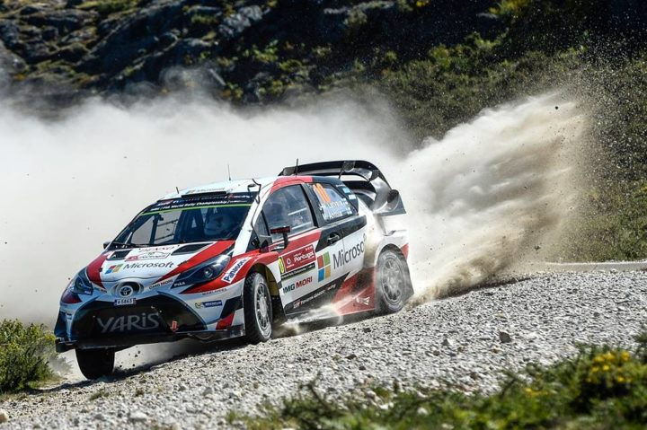 ALL THREE TOYOTA YARIS WRCS FIGHTING FOR A STRONG FINISH TO RALLY PORTUGAL