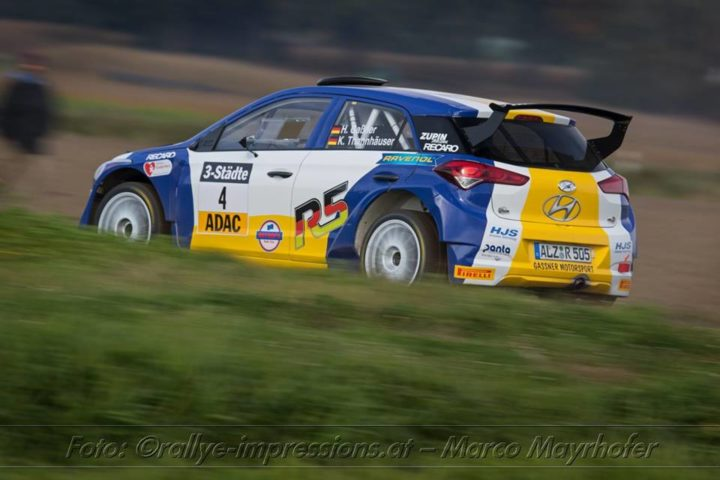 THE ADAC RALLYE DEUTSCHLAND IS AND EXTREME CHALLENGE BOTH FOR THE DRIVERS AND THE CARS