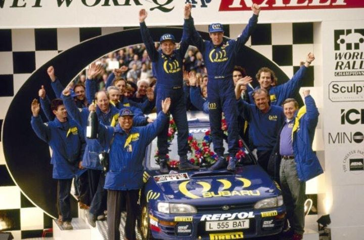 DAVID RICHARDS NAMED AT THE MOTORSPORT HALL OF FAME BY PRODRIVE