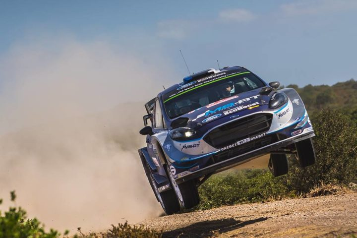 TÄNAK IN THE HUNT AT RALLY ITALIA SARDEGNA