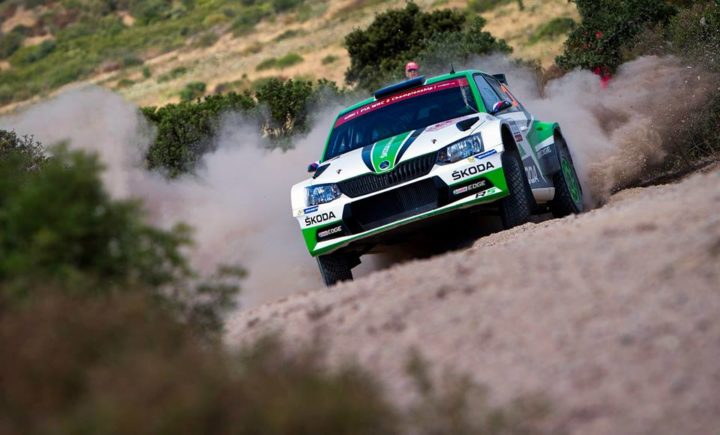 JAN KOPECKÝ / PAVEL DRESLER DOMINATING WRC 2 WITH THEIR ŠKODA FABIA R5