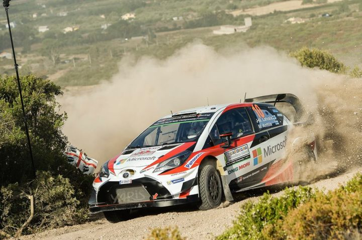 THREE-CAR YARIS WRC SQUAD BEGINS THE CHALLENGE OF SARDINIA