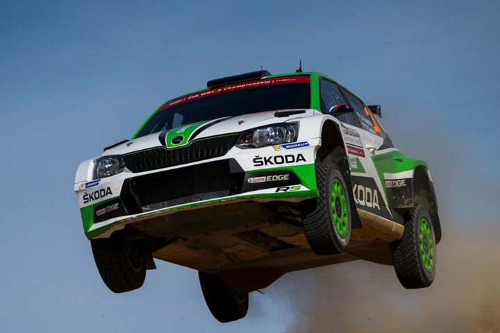 KOPECKÝ/DRESLER SECURED THEIR FIRST WRC 2 WIN OF THE SEASON FOR ŠKODA