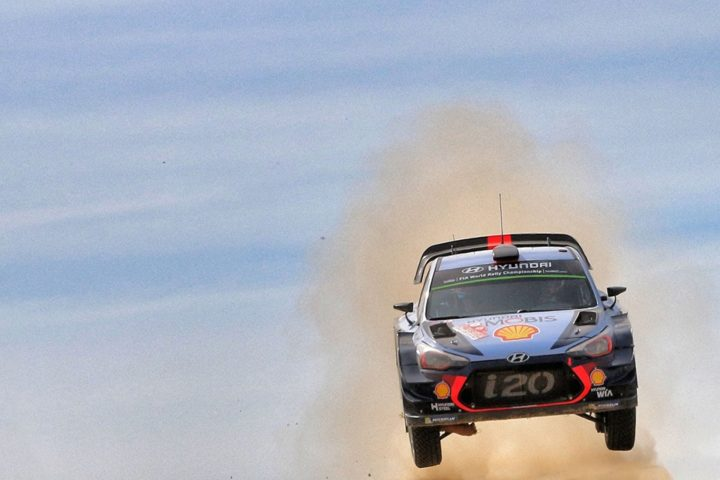 HYUNDAI MOTORSPORT'S VICTORY CHARGE HALTED AS SARDINIA BITES BACK