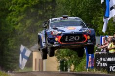 STRUGGLE CONTINUES FOR HYUNDAI MOTORSPORT IN FINLAND