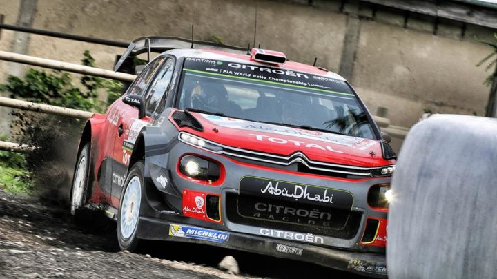 THE CITROËN C3 WRCs IN THE HUNT