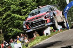 CRAIG BREEN STILL IN CONTENTION FOR A PODIUM PLACE