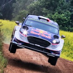 FIRED UP AND READY TO FLY AT RALLY FINLAND