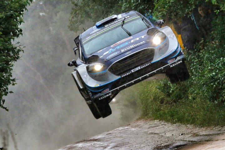 TÄNAK IN CLOSE BATTLE FOR RALLY POLAND LEAD