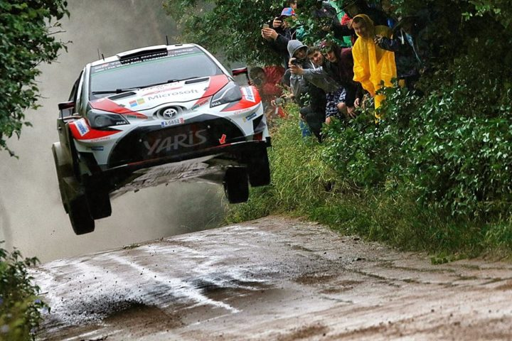 LATVALA CONFIRMS TOYOTA'S RALLY PACE