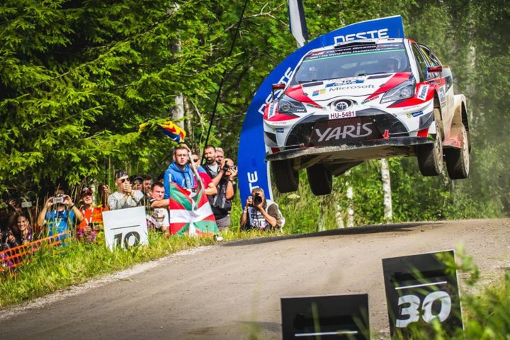 LAPPI LEADS FOR TOYOTA INTO FINAL DAY OF RALLY FINLAND