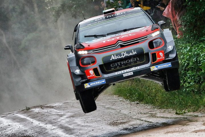 THE CITROËN C3 WRCs TACKLE THE FINNISH GRAND PRIX!