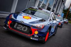 SPECTACULAR WRC PREPARED FOR TAKE OFF ON NESTE RALLY FINLAND