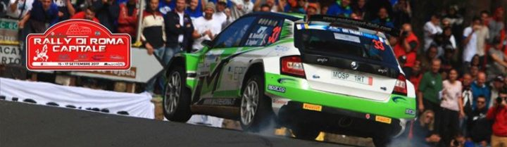 RALLY DI ROMA CAPITALE IN THE EUROPEAN RALLY CHAMPIONSHIP