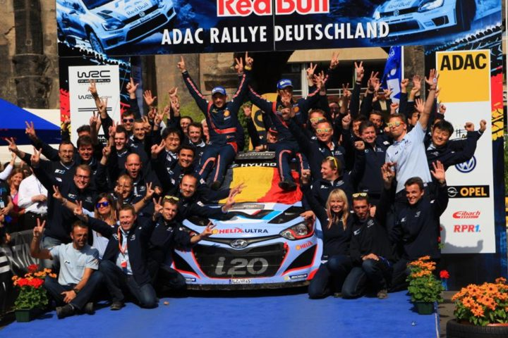 IMPRESSIVE LINE-UP IN THE 2017 ADAC RALLYE DEUTSCHLAND