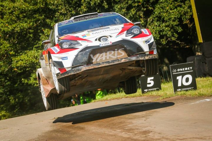 YARIS WRC DRIVERS EXPERIENCE THE HIGHS AND LOWS OF BAUMHOLDER
