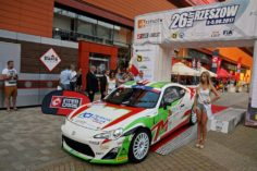 MOTORSPORT ITALIA AND ACI TEAM ITALIA IN THE EUROPEAN CHAMPIONSHIP WITH THE TOYOTA GT86 CS – R3
