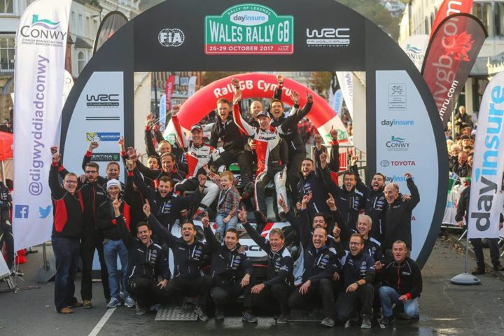 THREE CHAMPIONSHIPS AND AN EL-WIN SECURED ON HOME SOIL AT WALES RALLY GB