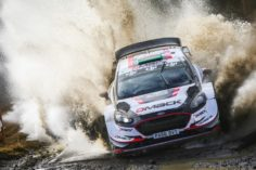 EVANS LEADS FIESTA PODIUM ON HOME SOIL IN WALES