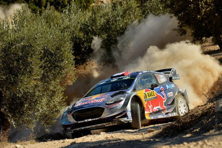 OGIER HOLDS SECOND AFTER A CLOSE FIGHT ON GRAVEL